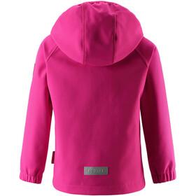 Reima Vantti Softshelljakke Børn, raspberry pink
